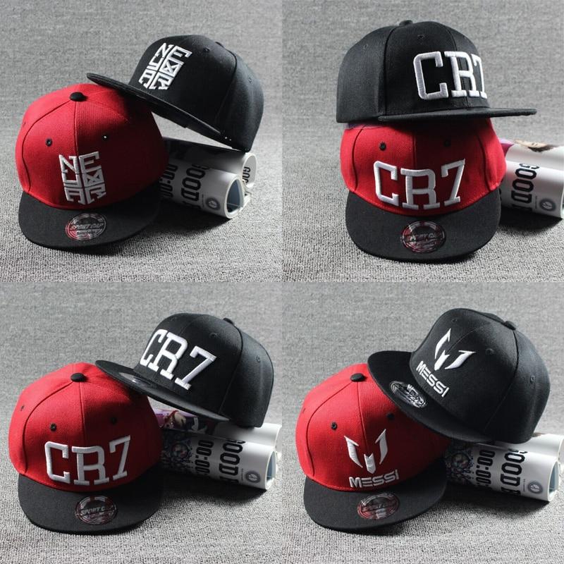 2017 New Fashion Children Ronaldo Cr7 Neymar Njr Baseball Cap Hat Boys Girls Kids Messi Snapback Hats Hip Hop Caps Gorras