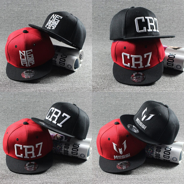 2017 New Fashion Children Ronaldo CR7 Neymar NJR Baseball Cap Hat Boys  Girls Kids MESSI Snapback Hats Hip Hop Caps Gorras c0590f8a61f2