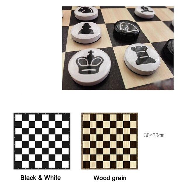 Jeu d'échecs magnétiques disques portables 2
