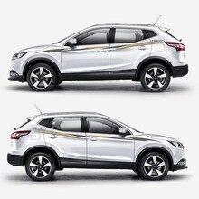 TAIYAO автомобильный Стайлинг спортивный автомобиль стикер для Nissan QASHQAI автомобильные аксессуары и наклейки авто стикер