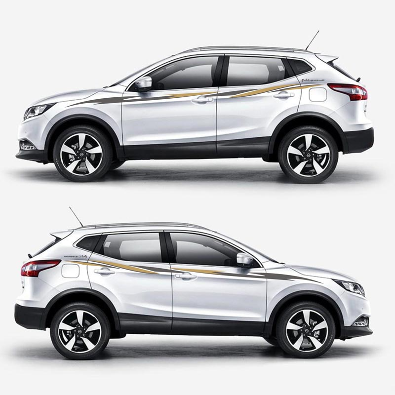 TAIYAO car styling sport car sticker For Nissan QASHQAI car accessories and decals auto sticker