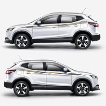 цена на TAIYAO car styling sport car sticker For Nissan QASHQAI car accessories and decals auto sticker