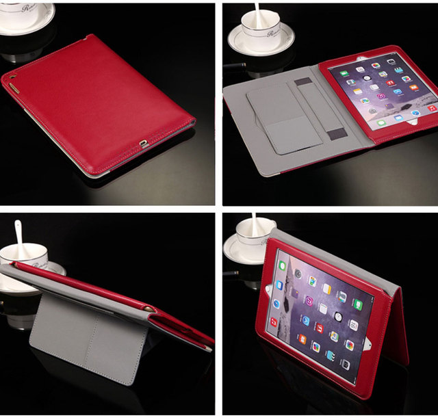Luxury Book Leather Case for Apple iPad Air2 Tablets