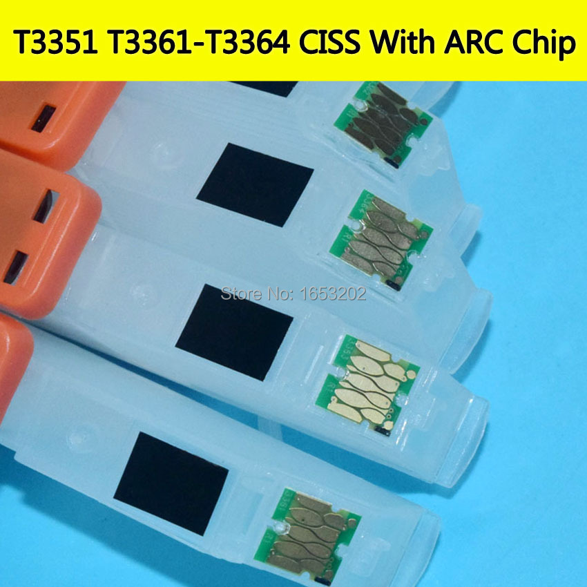 EPSON T3351 T3361-T3364 Continuous ink Supply System With ARC Chip 6