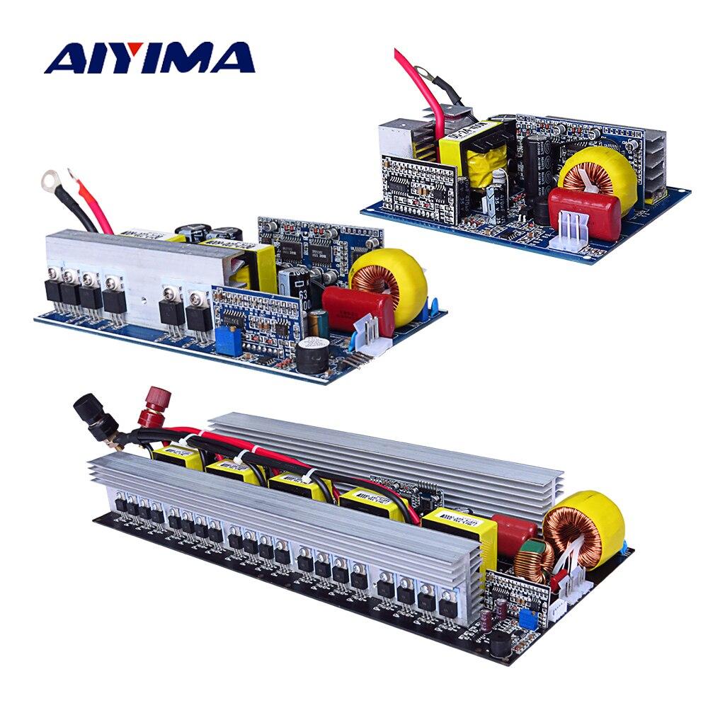 Aiyima Чистая синусоида-Инвертор DC 12 В к AC 220 В 300/500/600/1000/1500/2000/2500/3000 Вт Талона технического испытания высокое качество