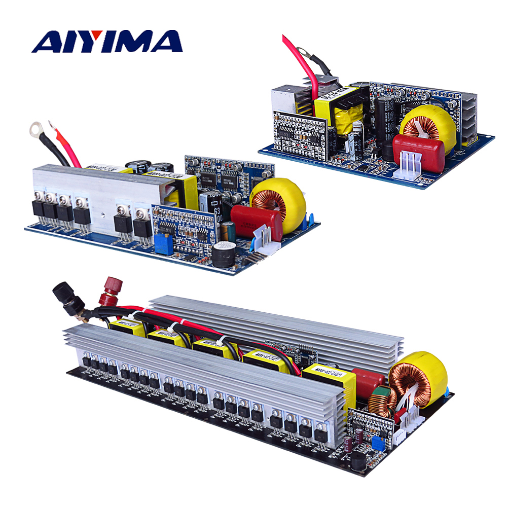 Aiyima Pure Sine Wave Inverter Board DC 12V to AC 220V 300/500/600/1000/1500/2000/2500/3000W Pass Technical Tested High Quality