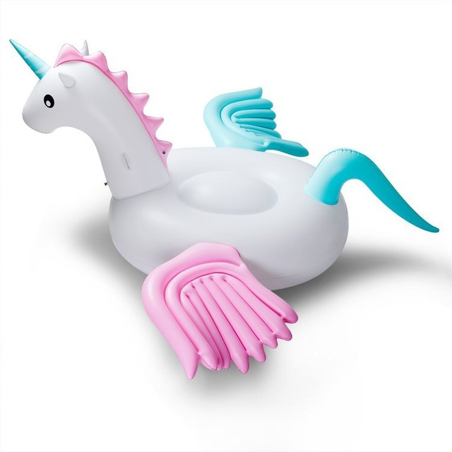 Inflatable Boat Unicorn Swimming Float Swan Adult Tube Raft Kid Swim Air Mattresses Ring Summer Water Pool Float Toy tortoise sunshade inflatable toy for baby kid play water bath outdoor toy swim ring pool toy summer ride on floating boat toy
