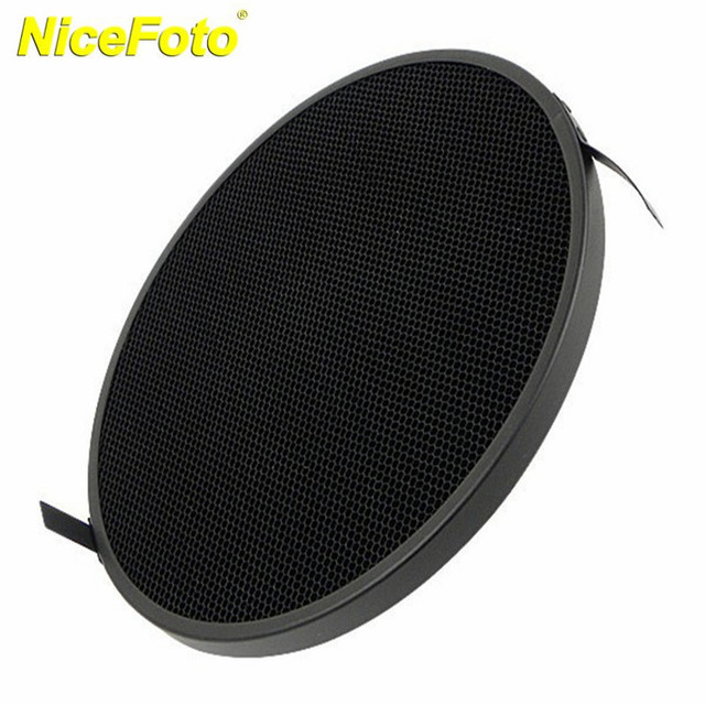 NICEFOTO Diameter 300mm Honeycomb Grid with 6x6mm for Beauty Dish RS-300