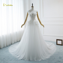 Loverxu Vestido De Noiva Sexy Backless Wedding Dresses 2019