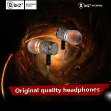 QKZ In Ear Fone de Ouvido de Alta Fidelidade Qualidade de Som Profissional de Música Do Telefone Móvel Fone de Ouvido de Metal Baixo Pesado Fone de Ouvido para huawei xiaomi