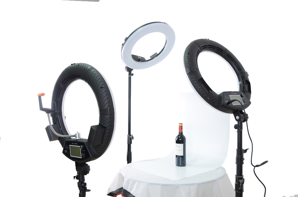 Yidoblo FE-480II Studio Ring Light 480 LED Video Light Lamp LCD - Kamera dan foto - Foto 1
