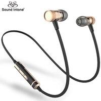 Sound Intone H6 Bluetooth Earphones Running Sport With Mic Wireless Earphones Bass Bluetooth Headsets In Ear