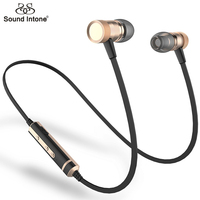 Sound Intone H6 Bluetooth Earphones Running Sport With Mic Wireless Earphones Bass Bluetooth Headsets In Ear