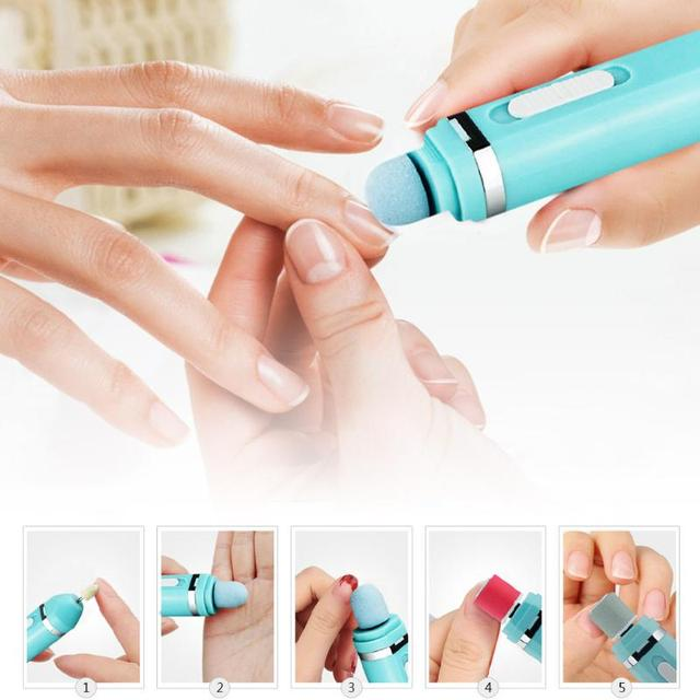 9 in 1 Electric Manicure Nail Art File Drill Buffers Art Salon Pro ...