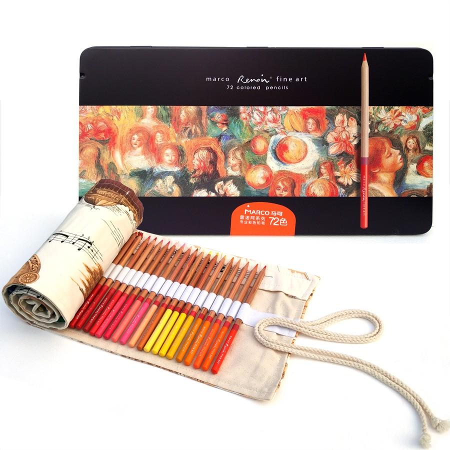 Marco 3100 72&100 Colored Pencils-3