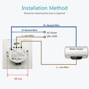 Image 5 - UE WiFi Interruttore del Riscaldatore di Acqua di Caldaia 4400 W Tuya Vita Intelligente App Telecomando ON OFF Timer di Controllo di Voce di Google casa Alexa Eco