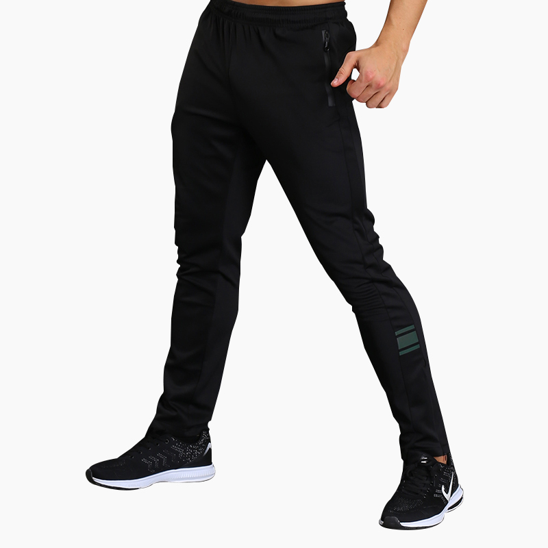 Running Pants Men Sports Leggings Training Long Trousers Fitness Gym Training Jogging with Pockets for spring and summer sports jogging pants with zip
