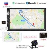 multimedia car radio din 2 din player Navigation for gps carplay autoradio led camera Recorder stereo para central multimidia