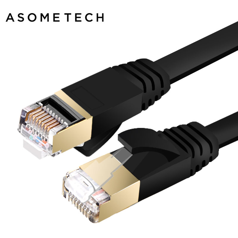 Ethernet Cable Cat7 LAN Cable UTP RJ 45 Network Cable RJ45 Patch Cord 1m/2m/10m/15m/20m for Router Laptop PC Ethernet Connector vention high speed utp cat 6 rj45 connector ethernet cable flat gigabit network cable rj45 patch lan cord for pc laptop router