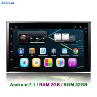 Aoluoya RAM 2GB Android 7.1 CAR DVD GPS Player For KIA Sportage 2004 2009 sorento 2002 2009 carens 2006 2010 carnival 2006 2011