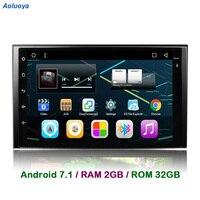 Aoluoya RAM 2GB Android 7.1 CAR DVD GPS Player For KIA Sportage 2004 2009 sorento 2002 2009 carens 2006 2010 carnival 2006 2011