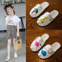 Children Infant Kids Baby Girls Boys Cartoon Cute Beach Slippers Sandals Shoes