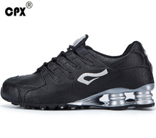 Brand CPX men's original Shox Technical original Running Shoes zapatos de hombre mens athletic Outdoor sport shoes men sneaker