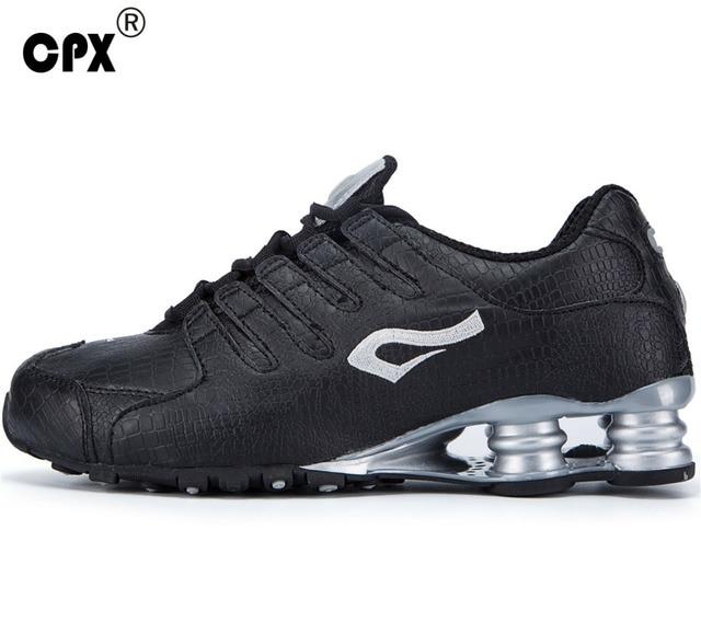 Brand CPX men's original Shox Technical original Running Shoes zapatos de hombre mens athletic Outdoor sport shoes men sneaker