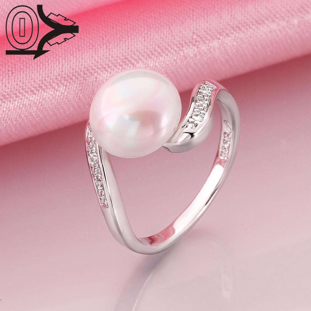 R016 8 Wholesale Latest Imitation Pearl Ring Designs For Women ...
