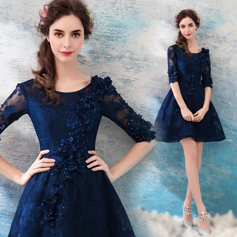 2018 new stock plus size women pregnant   bridesmaid     dresses   wedding party A line lace flower backless sexy romantic cheap   dress