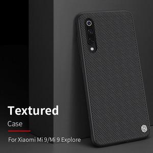 Image 3 - case for xiaomi mi 9 /mi9 Explore xiaomi mi 10 mi10 Pro cover case NILLKIN Textured Nylon fiber case back cover durable non slip
