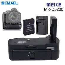 Meike MK D5200 kamera pionowa Muti moc uchwyt baterii uchwyt na Pack dla Nikon D5200 DSLR z EN EL14 bateria + ładowarka