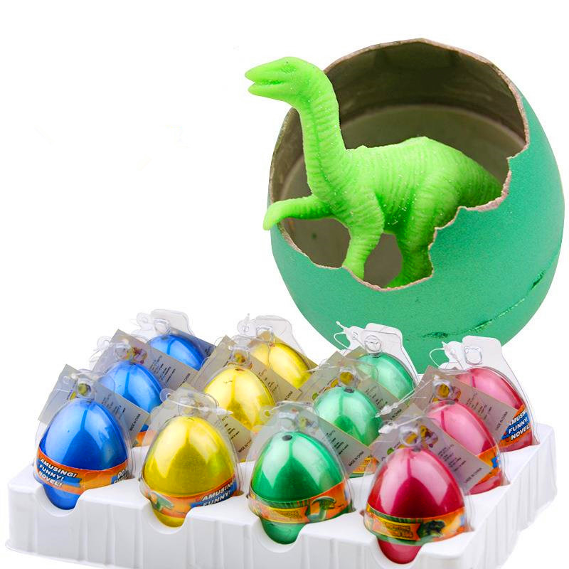 10 шт./лот волшебное высиживание и выращивание динозавра добавить воду выращивать Динозавр яйцо милые детские игрушки