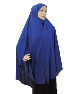 Image 4 - Pełna okładka muzułmanki sukienka modlitwa Niquab długi szalik Khimar hidżab Islam duże ubrania napowietrzne Jilbab Ramadan arabski bliski wschód