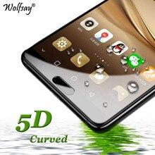 ФОТО 5d curved tempered glass huawei p9 lite 2017 screen protector glass huawei p8 lite 2017 full glue cover film huawei honor 8 lite