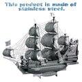 Frete grátis A Vingança da Rainha Anne P038-S Metal 3D Figura Puzzle Brinquedo artesanal montagem modelo modelo do navio Iate veleiro Presente
