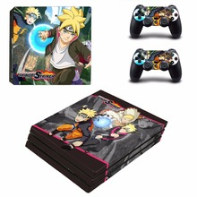 PS4 Pro Skin Sticker and Controllers PS4 Pro Skin Stickers Decal Vinyl – Naruto to Boruto