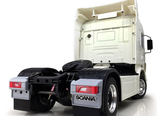 Aliexpress.com : Buy 1/14 Scale RC Tamiya Tractor Trailer ...