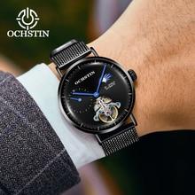 2019 NEW OCHSTIN Watch Men Fashion Business Watches Mens Casual Waterproof Atomatic Mechanical Steel Mesh Clock