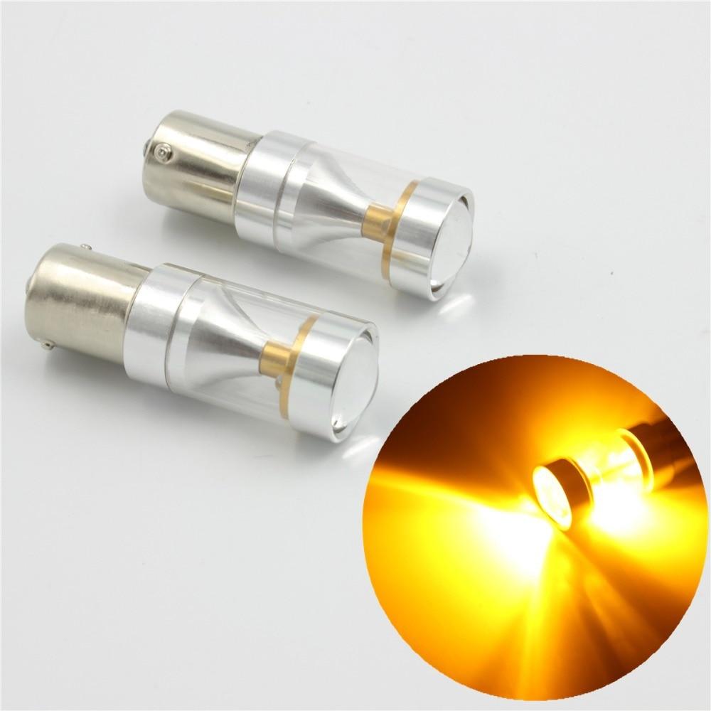 24v 30x Led Cluster: 2Pcs Super Brightness High Power Socket 1156 Led, 30W 6