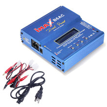 80W Balance RC Charger iMAX B6AC Dual Power Lipo Lithium NiMH RC Battery Balance Charger Discharger for Helicopter Boat Car Toy