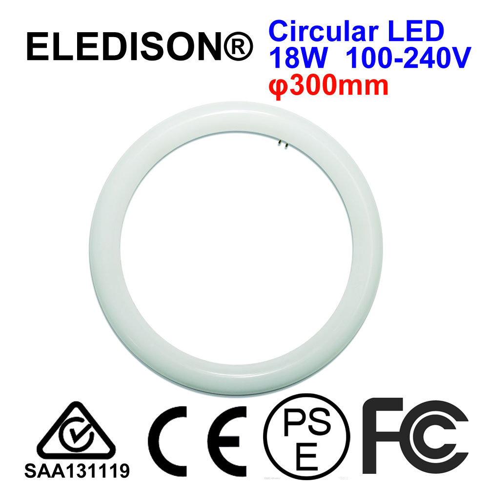 T9 G10q <font><b>LED</b></font> Light Tube Ring Annular Frosted Tube Lamp 12W <font><b>18W</b></font> 300mm 225mm 10 inch Frosted Cover Retrofit <font><b>LED</b></font> Ceiling Lamp image