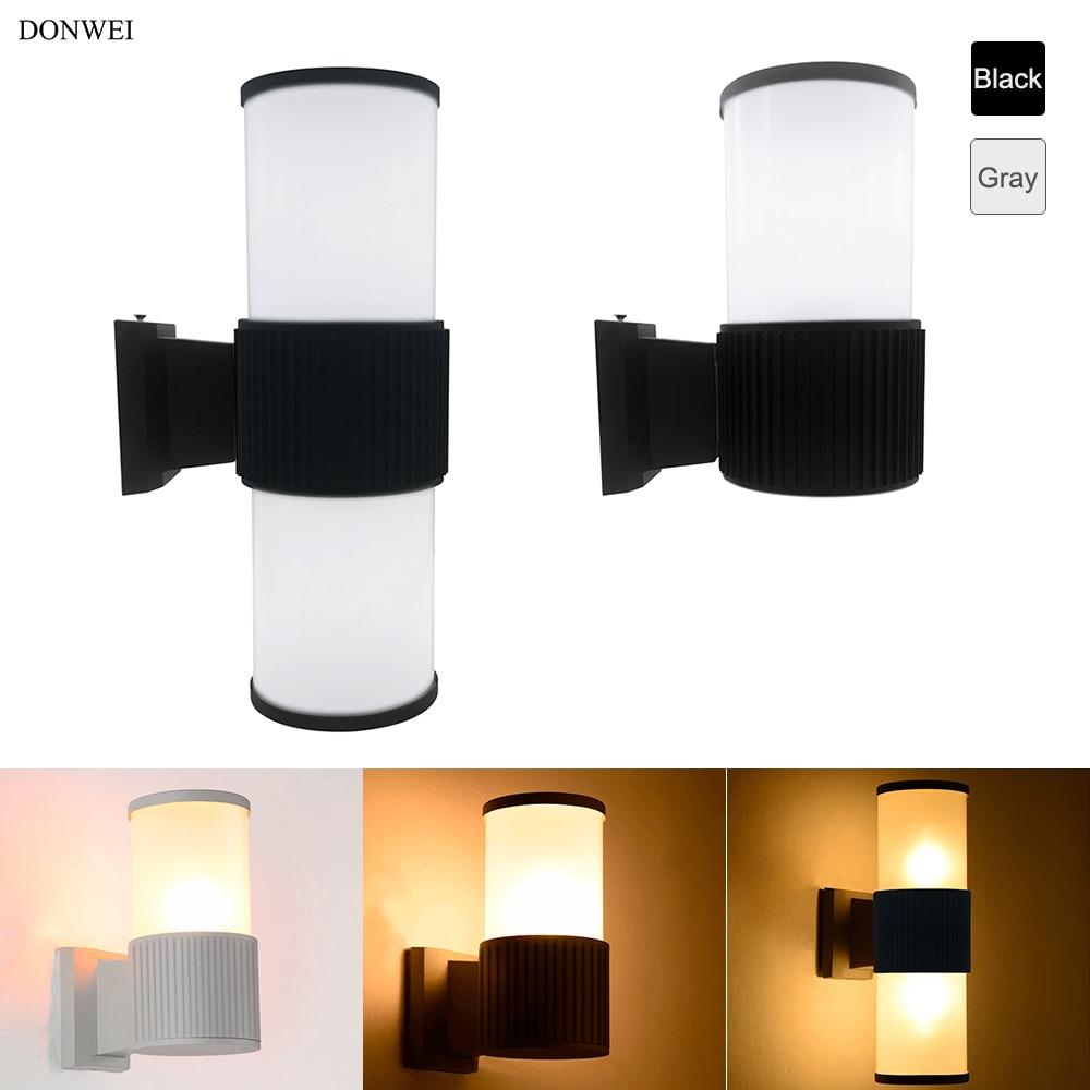 Online Lamp Store: Aliexpress.com : Buy DONWEI Up Down Dual Head E27 LED Wall