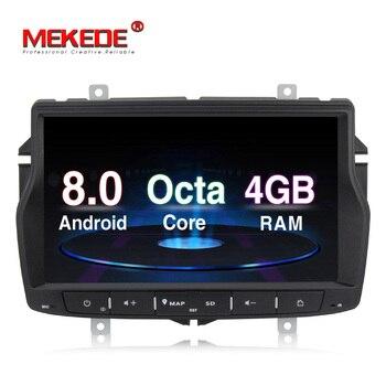Rosyjski menu darmowa wysyłka 4G RAM 1din samochód multimedialny ODTWARZACZ DVD dla Lada vesta z systemem Android 8.0 Octa rdzeń z wifi BT GPS