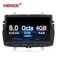 Русский Меню Бесплатная доставка 4 г Оперативная память 1din автомобиля Радио Мультимедийный dvd-плеер для Lada Веста Android 8,0 Octa core с wifi BT gps
