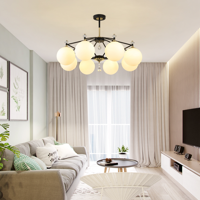 Modern LED Chandelier for Living Room Bedroom Indoor Lighting Fixtures Home Decoration Hanging Lamp Iron Design Contemporary ArtModern LED Chandelier for Living Room Bedroom Indoor Lighting Fixtures Home Decoration Hanging Lamp Iron Design Contemporary Art