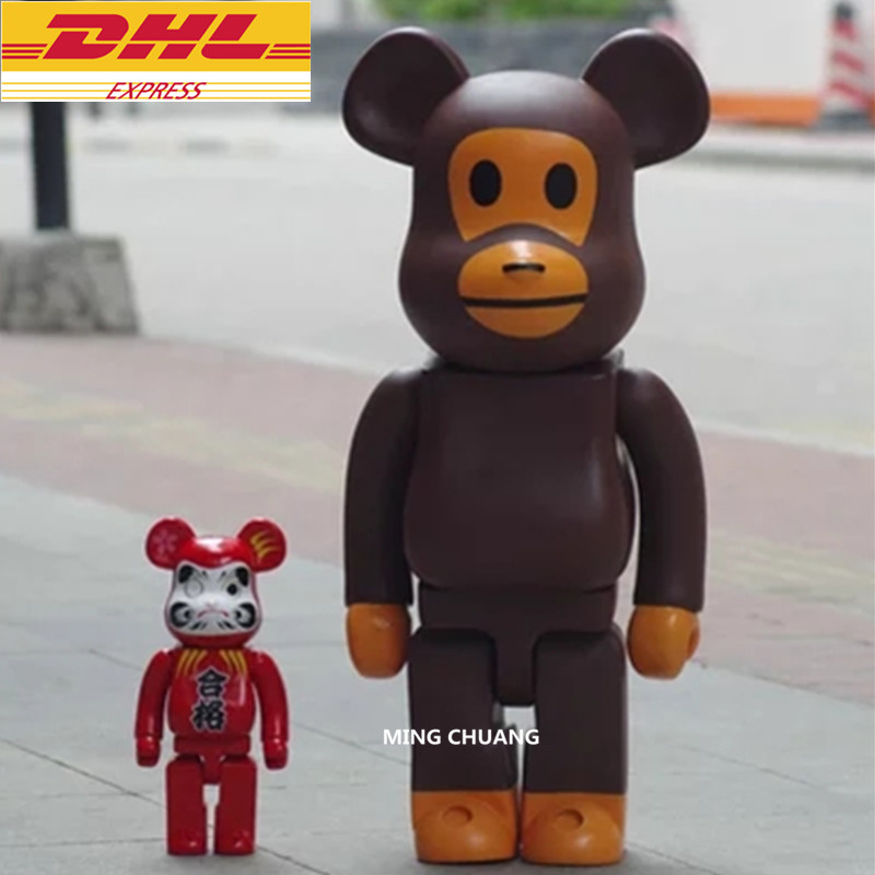 "27"" Bearbrick Gloomy 1000% BB Be@rbrick Apeface Basic Vinyl Action Figure Collectible Model Toy 70CM D386"