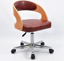 Home office study book desk chair individual swivel chair modern contracted.002
