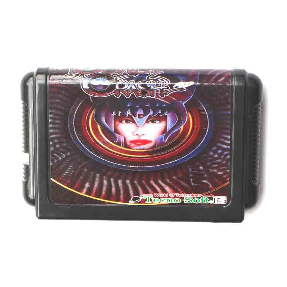 Devil Crash 16 bit MD Game Card For Sega Mega Drive For Genesis
