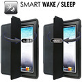 Para mini ipad extrema heavy duty caso de corpo inteiro com inteligente sono magnético/wake capa de couro para o ipad mini/mini 2/mini 3